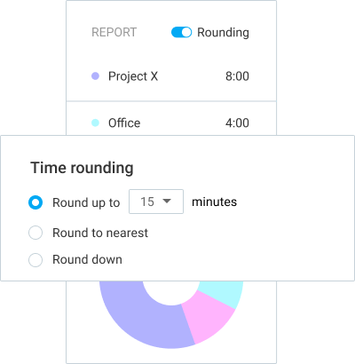 Extra features Time rounding
