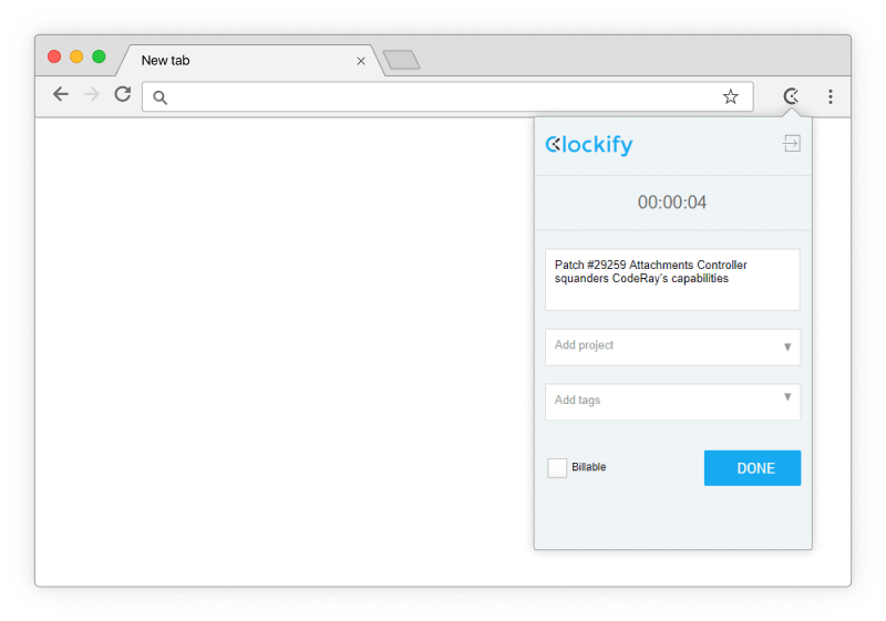 Redmine Time Tracking Integration - Clockify