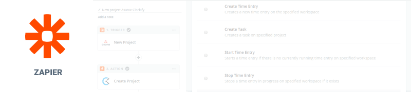 Zapier time tracking integration