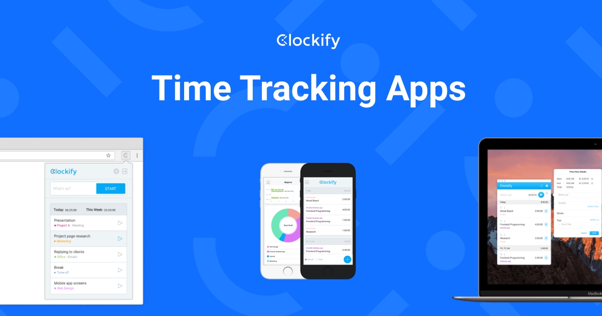 Time Tracking Apps - Clockify