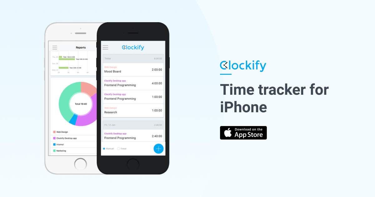 free iphone  u0026 ipad time tracking app