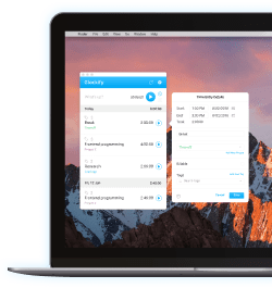 Desktop time tracking app and time tracker for Mac and Windows