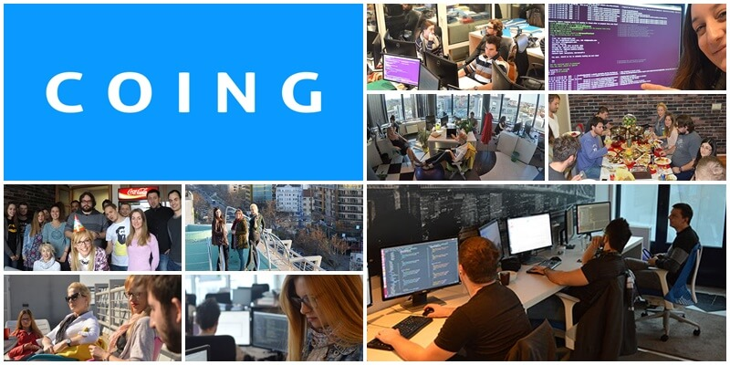COING team collage