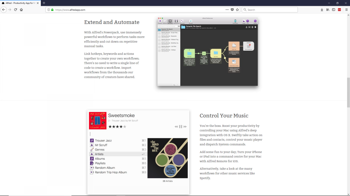 Best productivity tools: Alfred