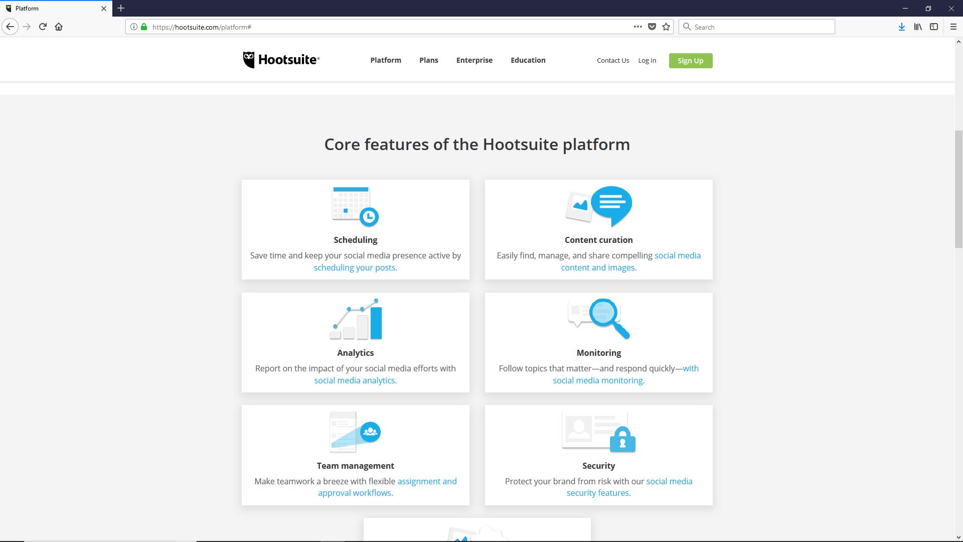 Best productivity tools: HootSuite