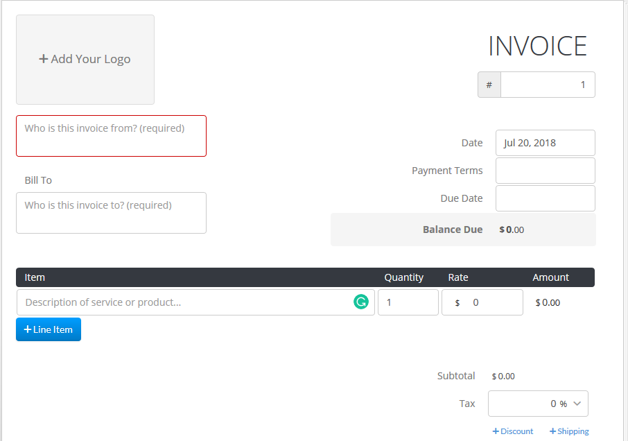 13 best free invoicing tools