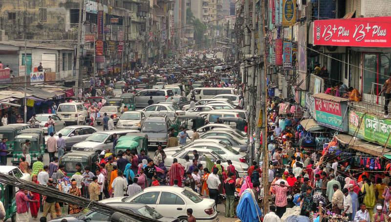 New Market Dhaka Bangladesh by joiseyshowaa