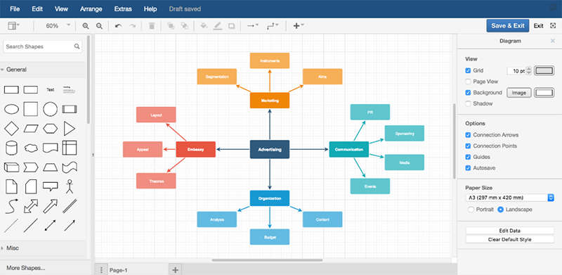 drawio Jira plugin screenshot