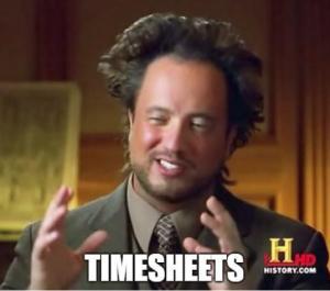 timesheet meme