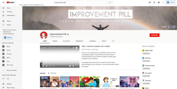 improvement pill-min