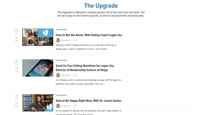 the upgrade-min
