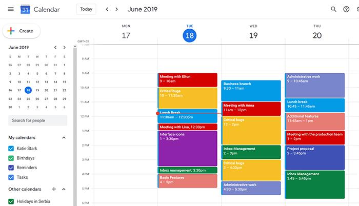 Google Calendar classic calendar app