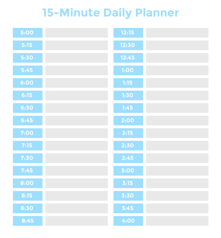 Time Blocking Planner (+ 9 Free Time Blocking Templates