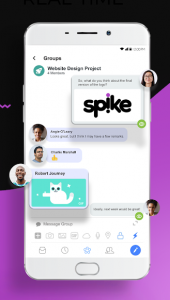Spike Android app screenshot
