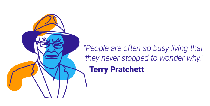 Terry Pratchet quote about time