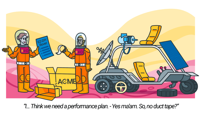 Performance plan - cover
