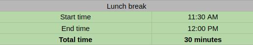 spreadsheet-lunch_break