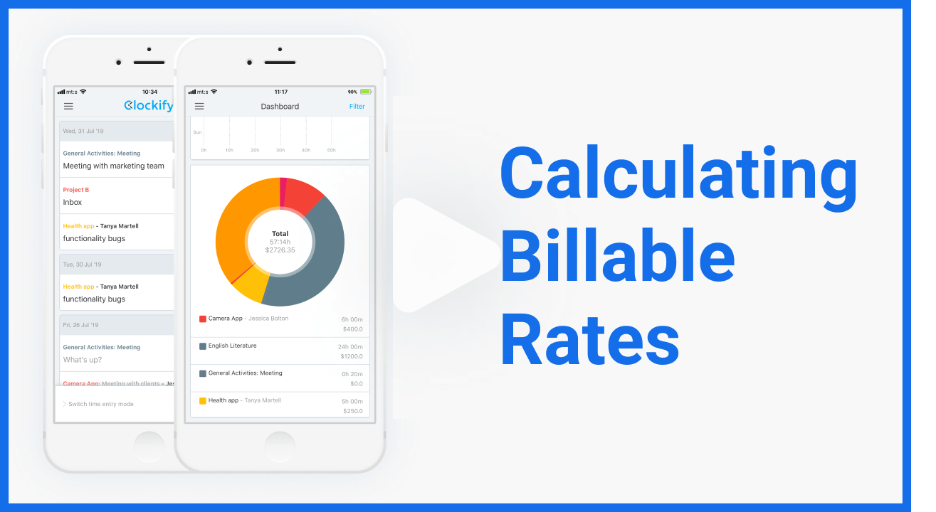 videos calculating billable hours