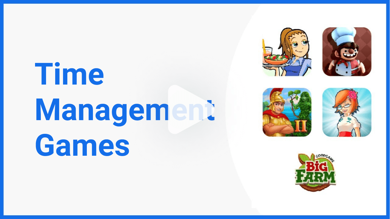 videos time management games