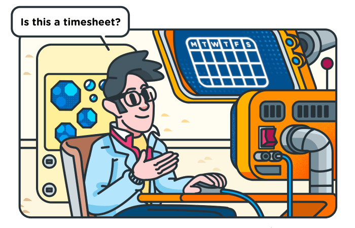 How to fill timesheets - cover