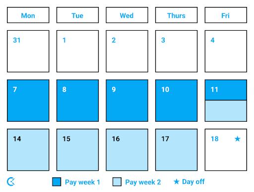9-80 workweek