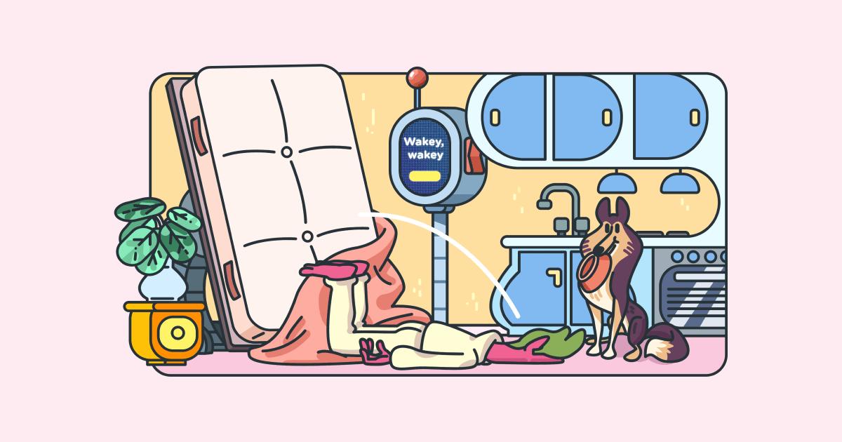 Morning routine - social
