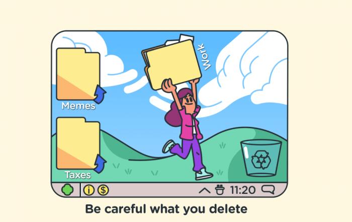 Decluttering your digital space - social