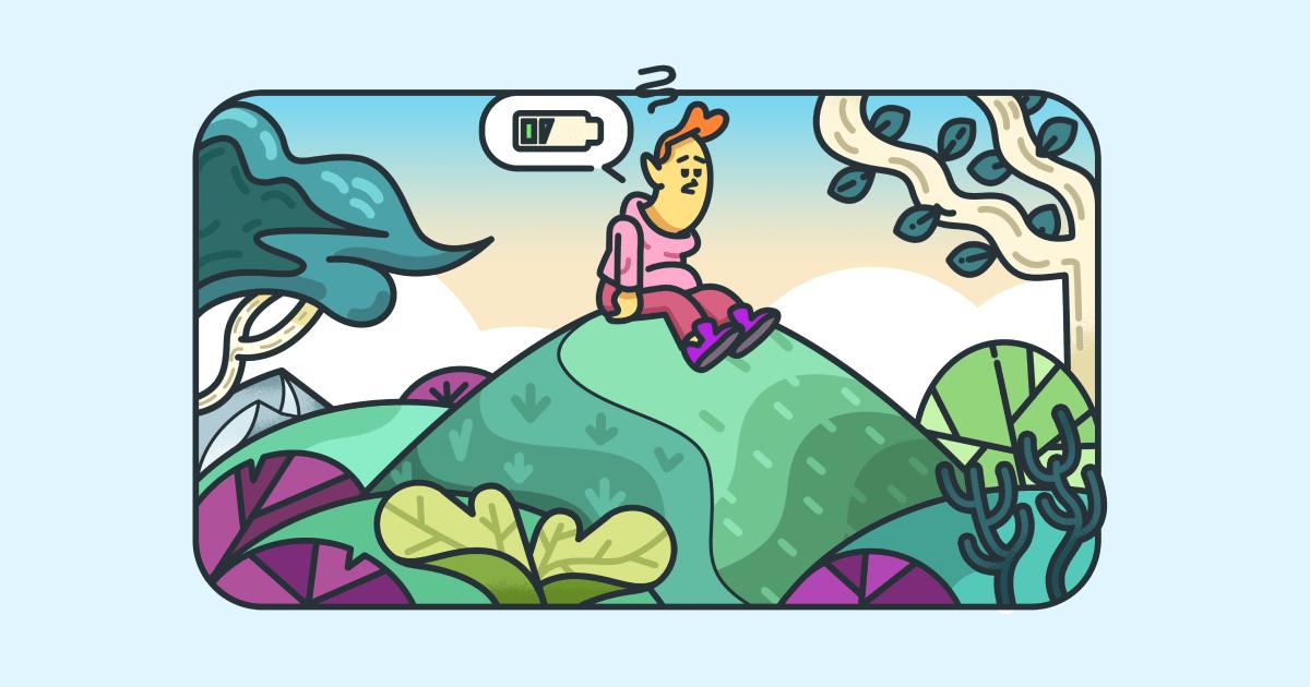Mental fatigue - social