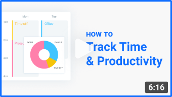 how to track time and increase productivity tutorial