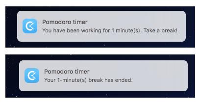 pomodoro timer in mac desktop clockify