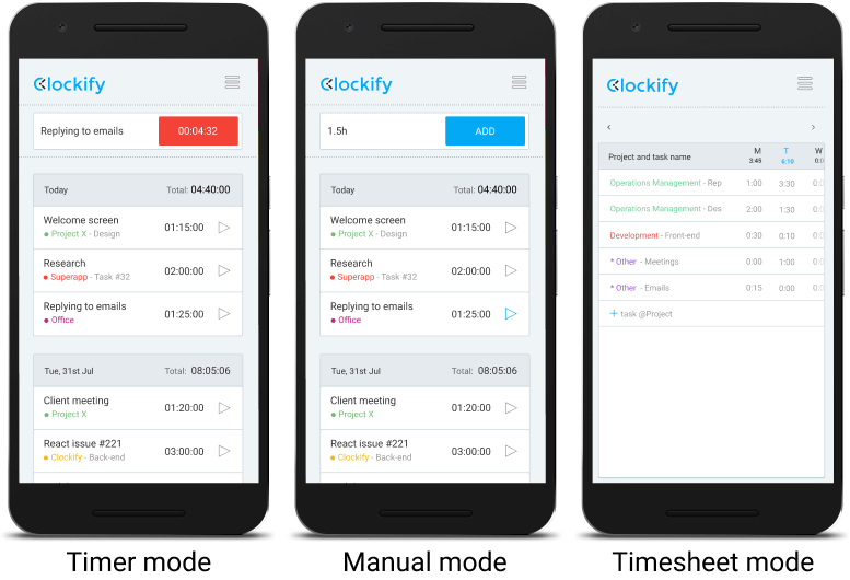 android app time tracking
