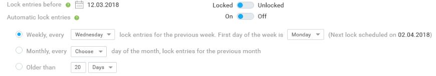 automatic lock